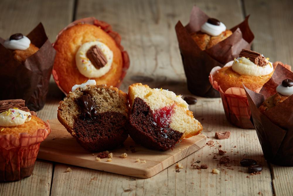 2 Tone Muffins