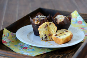 Cranberry, Orange & White Chocolate Muffin