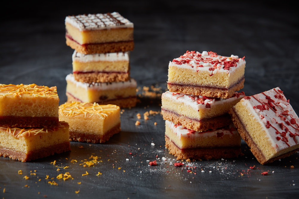 Handmade Biscuit Traybakes