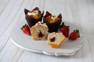 Strawberries & Cream Muffin