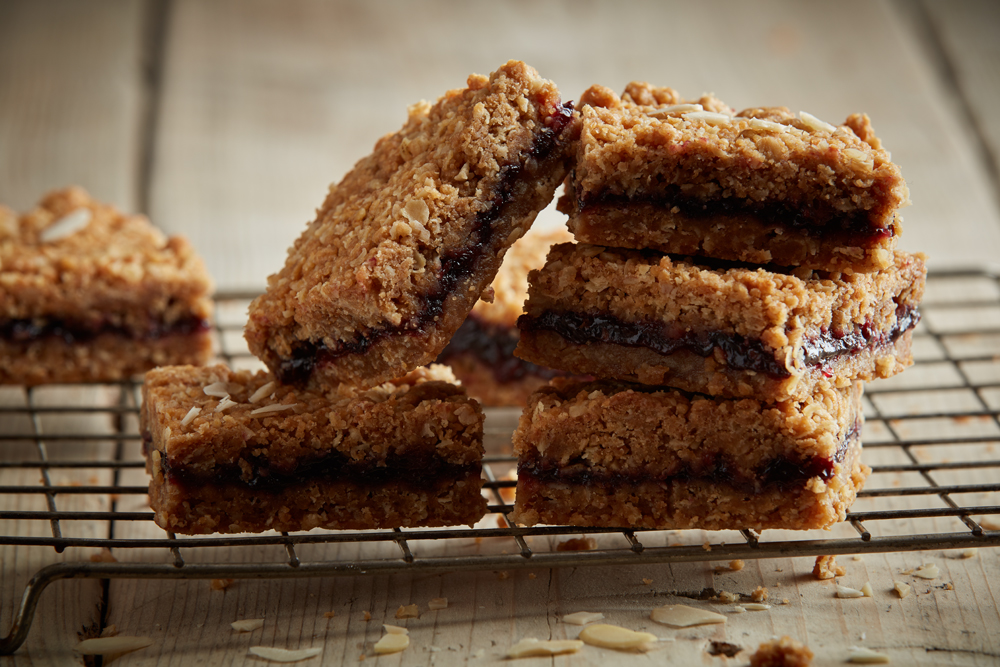 Vegan Blackberry & Almond Crumble