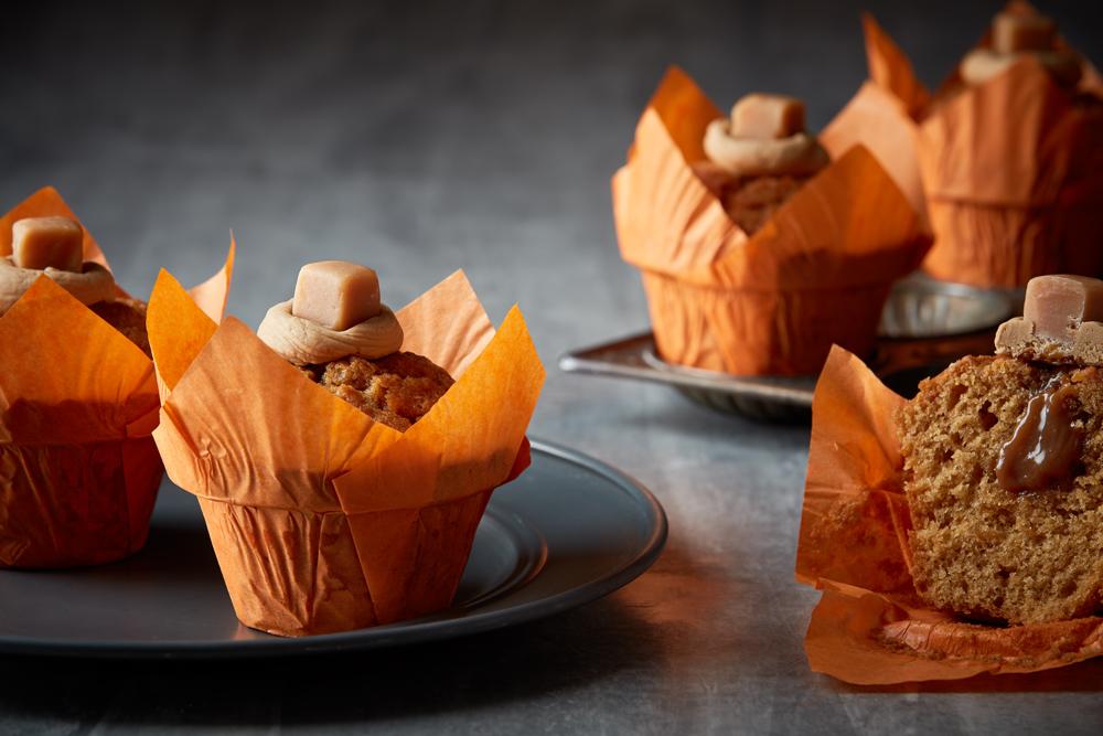 Wild Bean Salted Caramel Muffin